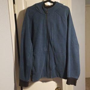 Lululemon l/s full zip hoodie XL